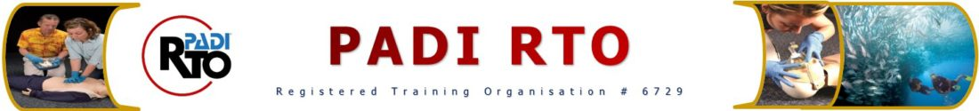PADI RTO - Registered Training Organisation #6729